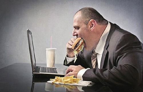 男性上班族如何避免发胖