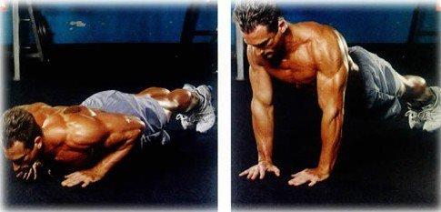 俯卧撑锻炼什么肌肉