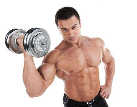 用哑铃锻炼胸肌的方法