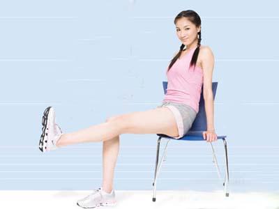 坐着瘦腿的最快方法