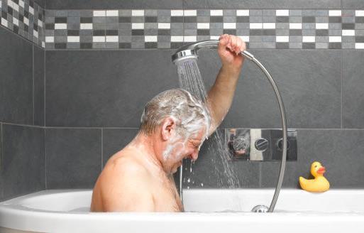 老年人朋友洗澡前的注意有哪些
