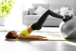 用瑜伽球怎么減肥