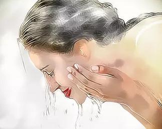 淘米水洗臉的正確方法