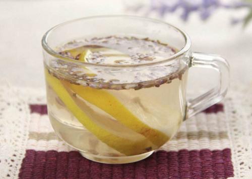 自制养颜美容茶 薰衣草柠檬茶